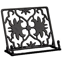 Buy John Lewis Cast Iron Cookbook Stand Online at johnlewis.com