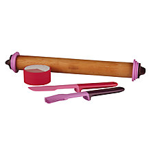 Buy Joseph Joseph Baking Set, 4 Pieces, Pink/Aubergine Online at johnlewis.com