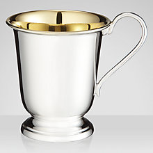 Buy Carrs Silver Plated Christening Mug Online at johnlewis.com