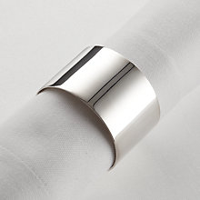 Buy Carrs Silver Plated Napkin Ring Online at johnlewis.com