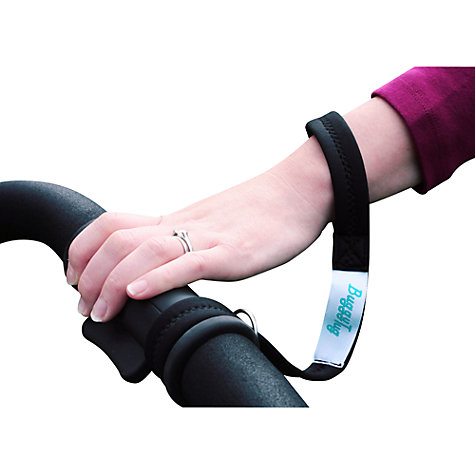 Buy Perfectly Happy People Buggy Tug Wrist Strap, Black Online at johnlewis.com