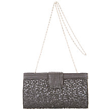 Buy John Lewis Krissy Herringbone Beaded Clutch Online at johnlewis.com