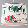 little home at John Lewis Easy-to-fit Dinotastic Ceiling Pendant