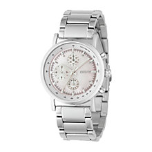 Buy DKNY NY4331 Women's Chronograph Silver Bracelet Watch Online at johnlewis.com