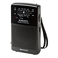 Buy ROBERTS Sports 925 Personal Radio Online at johnlewis.com