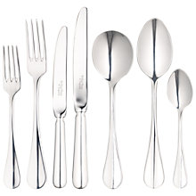 Buy Arthur Price Baguette Place Setting, 7-Piece, Silver-Plated Online at johnlewis.com
