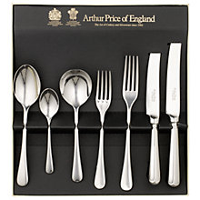 Buy Arthur Price Old English Place Setting, 7-Piece, Silver-Plated Online at johnlewis.com