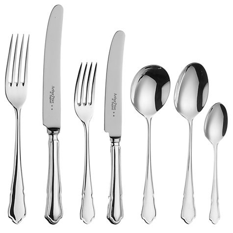 Buy Arthur Price of England Dubarry Silver Plated Place Setting, 7 Piece Online at johnlewis.com