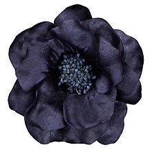 Buy Satin Corsage, Indigo Online at johnlewis.com