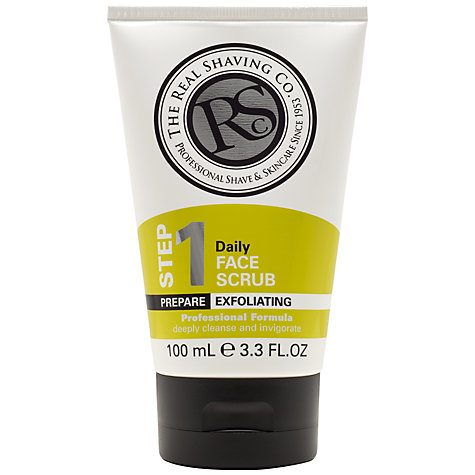 Buy The Real Shaving Co. Daily Face Scrub, 100ml Online at johnlewis.com