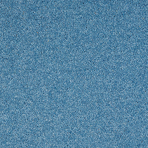 Buy John Lewis Wool Rich Plain Single Ply Carpet, Blue Online at johnlewis.com