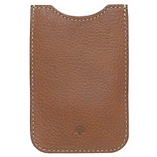 Buy Mulberry Leather Cover for iPhone 4 Online at johnlewis.com
