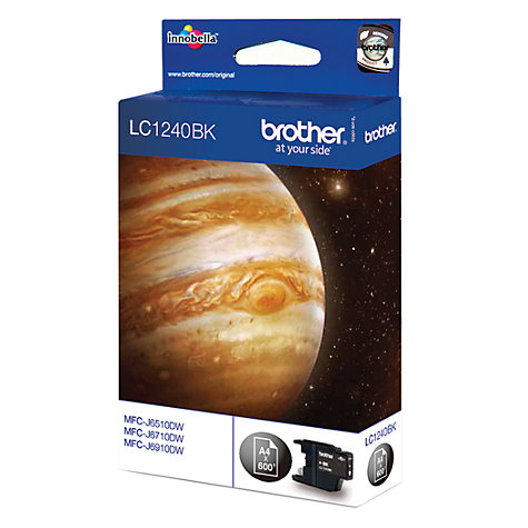 Buy Brother LC1240BK Inkjet Cartridge, Black Online at johnlewis.com
