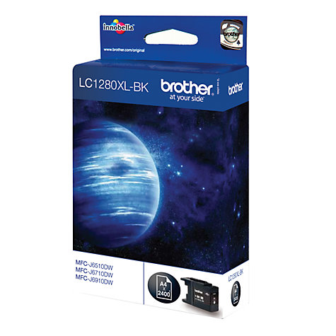 Buy Brother LC1280XLBK Inkjet Cartridge, Black Online at johnlewis.com