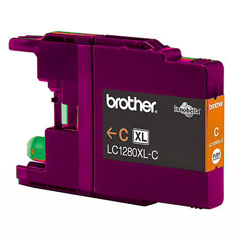 Buy Brother LC1280XL Colour Inkjet Cartridge Online at johnlewis.com
