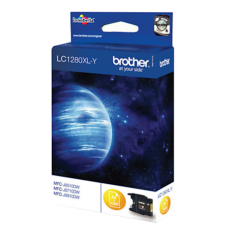 Buy Brother LC1280XLY Inkjet Cartridge, Yellow Online at johnlewis.com