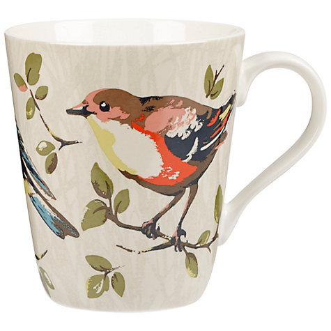 Buy Cath Kidston Garden Birds Stanley Mug Online at johnlewis.com