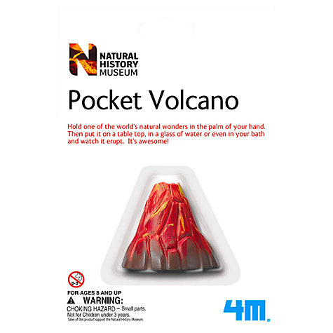 Buy Natural History Museum Pocket Volcano Online at johnlewis.com