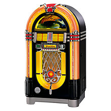 Buy Wurlitzer One More Time Jukebox, CD Edition, Black Online at johnlewis.com