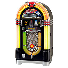 Buy Wurlitzer One More Time Jukebox, CD/iPod Special Edition, Black Online at johnlewis.com