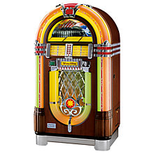 Buy Wurlitzer One More Time Jukebox, CD Edition, Mahogony Online at johnlewis.com
