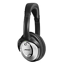 Buy Bose® QuietComfort® Noise Cancelling® QC15 Over-Ear Headphones, Silver Online at johnlewis.com