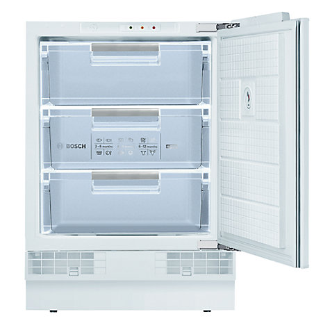 Buy Bosch GUD15A50GB Integrated Freezer, A+ Energy Rating, 60cm Wide Online at johnlewis.com
