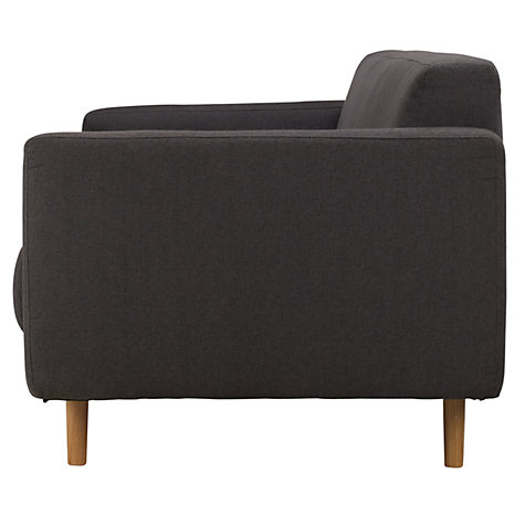 Buy Matthew Hilton for Case Metropolis Large Sofa, Charcoal Online at johnlewis.com