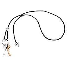 Buy Georg Jensen Love Keyring, Multi Online at johnlewis.com