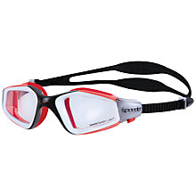 Buy Speedo Rift Pro Goggles, Red/Clear Online at johnlewis.com