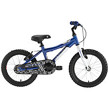 "Buy Adventure 160 Boy's 16"" Wheel Bike, Blue Online at johnlewis.com"