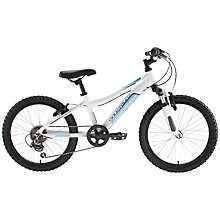 "Buy Adventure 200 Girl's 20"" Bike, White Online at johnlewis.com"