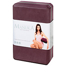 Buy Manuka Yoga Block Puja Online at johnlewis.com