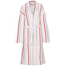 Buy Cath Kidston Sherbert Stripe Bath Robe, Multi, One Size Online at johnlewis.com