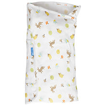 Buy Grobag Woodland Friends Swaddle Baby Blanket Online at johnlewis.com