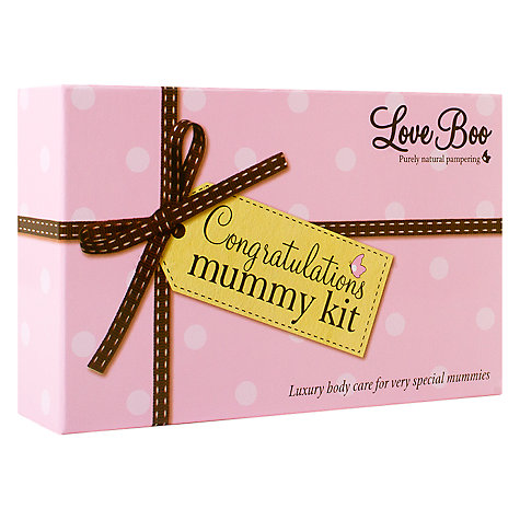 Buy Love Boo Congratulations Mummy Gift Set Online at johnlewis.com