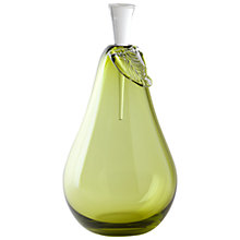 Buy William Yeoward Studio Art Pear Bottle Online at johnlewis.com