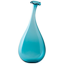 Buy William Yeoward Studio Art Wonky Bottle, Ocean, Medium Online at johnlewis.com