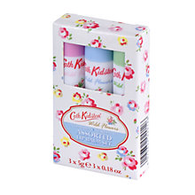 Buy Cath Kidston Wild Flower Lip Balm Set, 3 x 5g Online at johnlewis.com