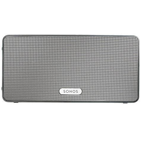 Buy Sonos PLAY:3 Wireless Music System, White with FREE Sonos Bridge Online at johnlewis.com