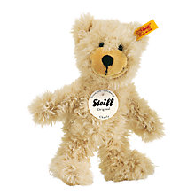 Buy Steiff Teddy Charly, Beige, 23cm Online at johnlewis.com