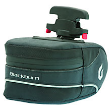 Buy Blackburn Zayante Medium Quick Release Saddle Bag Online at johnlewis.com