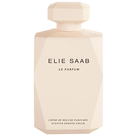 Buy Elie Saab Le Parfum Perfumed Shower Cream, 200ml Online at johnlewis.com