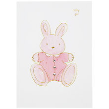 Buy Hammond Gower Baby Girl Card Online at johnlewis.com