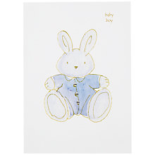 Buy Hammond Gower Baby Boy Card Online at johnlewis.com