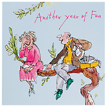 Buy Woodmansterne Another Year Of Fun Anniversary Card Online at johnlewis.com