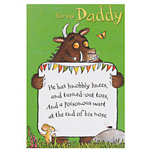 Buy Woodmansterne Happy Birthday Daddy Card Online at johnlewis.com