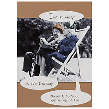 Buy Pigment Mad Moments Humorous Birthday Card Online at johnlewis.com