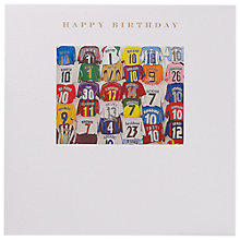 Buy Susan O'Hanlon Dream Team Birthday Card Online at johnlewis.com
