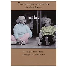 Buy Pigment Two Women Laughing Humorous Birthday Card Online at johnlewis.com